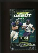 2001  DREW BREES RC AUTOGRAPH  TOPPS DEBUT  FACTORY SEALED  HOBBY BOX  SCARCE $$