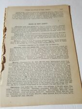1911 Railroad report of street railways New Jersey Horse & Electric trolley 25pg