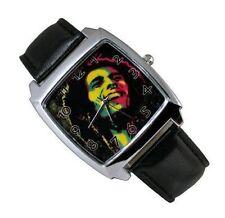 New Bob Marley Ragae Man Woman Lady Boy Wrist Watch
