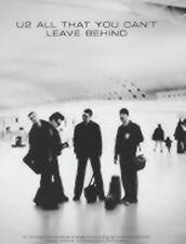U2 - All That You Can't Leave Behind (2006, Paperback) guitar chords and tabs