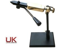 UKAS Rotatable Side Lever Action Fly Tying Vice with Pedestal Base