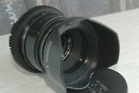 HELIOS-44-2 f/2 58mm Soviet Lens PL-MOUNT LENS ARRIFLEX ARRI Red One 35MM