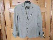 Per Una Women's Linen Hip Length No Pattern Coats & Jackets