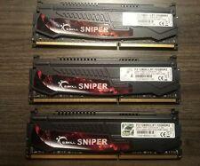 G.SKILL Sniper 12GB(3x4GB) 240Pin DDR3-1600 SDRAM PC3-12800 F3-12800CL9T-12GBSR2