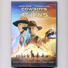 Cowboys & Aliens 2011 PG-13 movie, new DVD Daniel Craig, Harrison Ford western