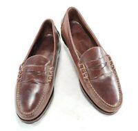 Allen Edmonds Gorham Mens Leather Penny Loafers Dress Shoes Sz 15 D