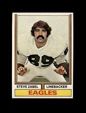 1974 Topps Football #428 Steve Zabel (Eagles) NM