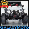 Rock Crawler Front Bumper+Fog Light Holes+Winch Plate for 07-18 Jeep JK Wrangler