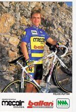CYCLISME carte  cycliste FELICE PUTTINI équipe MERCAIR BALLAN 1993