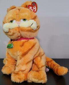 TY BEANIE BUDDY GARFIELD the CAT PLUSH GARFIELD the MOVIE NWT 2004