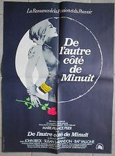 Affiche DE L'AUTRE COTE DE MINUIT Charles Jarrott MARIE-FRANCE PISIER 60x80cm