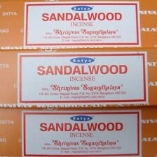 Satya Sai Baba Sandalwood Nag Champa 100G Grams Incense Sticks FAST FREE SHIP