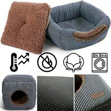Luxury 2in1 Cat Bed Cat Condo, Cat House & A Cat Cube 13x13x13 (Organic)