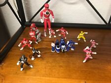 Mixed lot - Mighty Morphin Power Rangers Micro Machines and others - 14 pieces