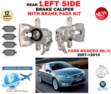 FOR FORD MONDEO Mk IV 2007->2014 REAR AXLE LEFT BRAKE CALIPER WITH BRAKE PADS