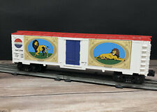 MTH Rail King O 30-74059 CIRCUS Window Box Car w/ Lions Great American Circus