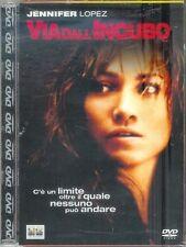 Via Dall'Incubo (2002) DVD Edizione Jewel Box