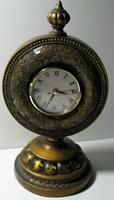 Vintage Decorative Wood Quartz Table Clock Mantle