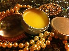 Patchouli Solid Perfume Essential Oil. Tin