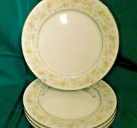 J2 - Noritake Fine China Blossom Time Dinner Plates Lot of 3