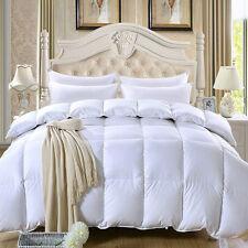 100 Siberian Goose Down Filled Comforter Quilt Doona Duvet Coverlet Yellow 200*230cm 3.50kg