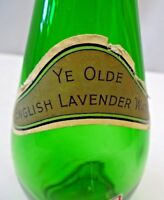 Vintage Glass Bottle Ye Olde English Lavender Water A S WATSON & CO LTD Rare *