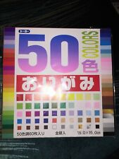 Origami Paper. 50 Sheets. Multi. Color