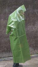 Poncho Militare Impermeabile in Plastica verde