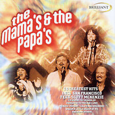 16 Greatest Hits by The Mamas & the Papas (CD, Mar-2002, Brilliant)