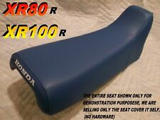 XR80 XR100 1985-1999 seat cover for Honda XR80R XR100R XR 80 XR 100 blue 051B