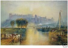 J M W Turner - Windsor Castle - MEDICI POSTCARDS