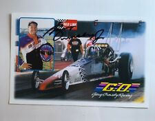 Gary Ormsby Jr Signed Autographed Redline Oil Dragster NHRA Photo Card N 593