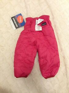 New with tag Patagonia Reversible Puff Ball Pants pink 6 months NWT baby toddler