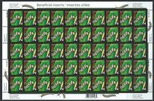 CANADA - #2328 - 2c MONARCH CATERPILLAR FULL SHEET (2009) MNH BENEFICIAL INSECTS