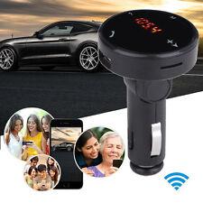 Wireless Car Kit MP3 Player Radio Bluetooth FM Transmitter SD USB Charger UK