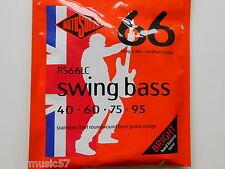 Rotosound RS66LC Swing guitare basse set acier inox roundwound 40-95 gauge