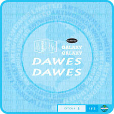 Dawes Galaxy Decals Bicycle Transfers - White - Set 5