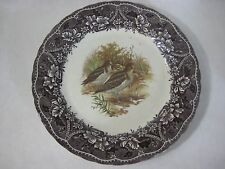 "Vintage Barratts England Snipe Dinner Plate, 10 1/2"" Diameter (Rare)"