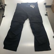 BMW SUMMER 3 Motorcycle PANTS BLACK 2XL #76128560976