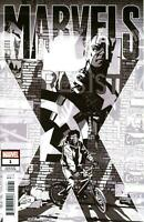 Marvels X #1 (Of 6) Party Sketch Var (2020 Marvel Comics) First Print Cover