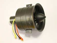 70mm 12 Blades 1800KV Motor EDF Electric Ducted Fan For Jet AirPlane Parts