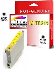Tinta NON OEM COMPATIBLE Amarillo para EPSON STYLUS T0614 D68 DX4800 DX4850 D88