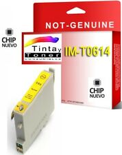 Tinta NON OEM COMPATIBLE Amarillo para EPSON STYLUS T0614 DX3800 DX3850 DX4200