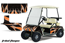 Club Car Golf Cart Graphic Kit Wrap Parts AMR Racing Decal 1983-2014 TRIBAL ORNG