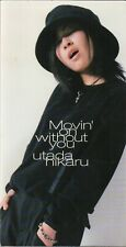 Utada Hikaru / 宇多田光 - Movin' On Without You 3inch Single (OOP) (EX/NM) POCD3114