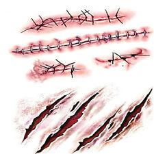10stk  Temporäre Tattoo Sticker Narbe Muster Wasserdicht DIY Tattooing Aufkleber