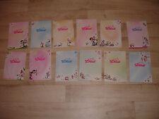 12 feuilles A5 DIDDL rares - numéros 433  à 444