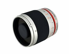 Rokinon 300mm F6.3 Mirror Lens for Micro Four Thirds Mount (M4/3) - Silver
