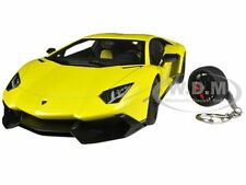 LAMBORGHINI AVENTADOR LP720-4 YELLOW 50TH ANNIVERSARY 1/18 BY AUTOART 74681