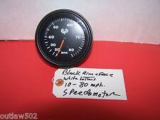 """10-80  TELEFLEX (3-3/8"""")HOLE  Vintage look Marine Speedometer Gauge 80MP NEW"""